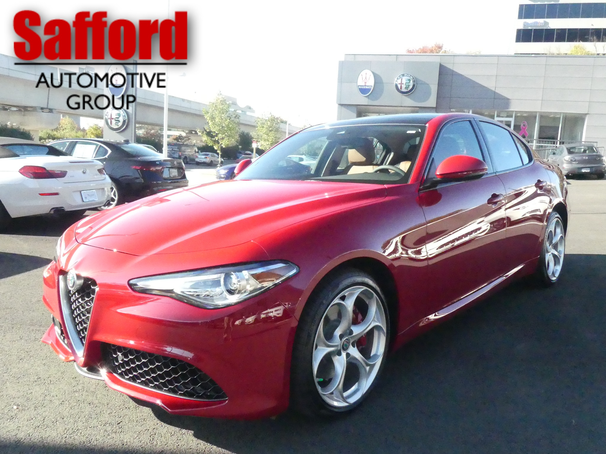 New 2019 Alfa Romeo Giulia Ti Sport Sedan In Vienna K7601801